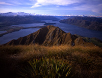 Lake Wanaka from Mt. Roy
