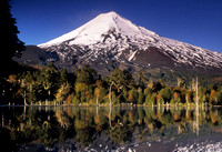 Llaima Volcano Reflection, Chile
