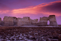 Monument Rocks Sunset #1, KS