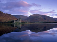 Kilchurn Castle Reflection, Scotland