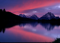 Oxbow Bend Sunset, Grand Teton National Park, Wyoming