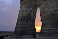 Monument Rocks Sunset #2, KS